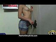 Девушка засунула банку себе в киску