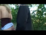 forest the in blowjob does babe Blonde