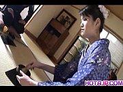Picture Kimono clad Suzuki Chao gives a hot blowjob...