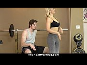 Picture TheRealWorkout - Hot Milf Fucks Fitness Clie...