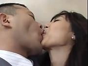 【堀口奈津美】深夜のオフィスで性交する浮気カップル