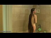 busty longhair blonde milf shampooing in the shower, kuntala longhair commbing job Video Screenshot Preview