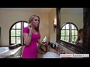 Порно видео блондинка в розовом