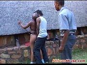 Жена поругалась с мужем и трахается с двумя соседями