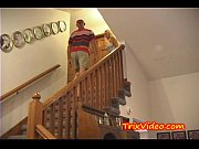 MILF MOM and DAD fuck the Baby Sitter