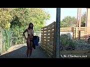 Black teen Candys public nudity and flashing eb...