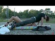 Career girl brutal public sex video