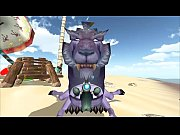WoW Cat With Draenei 3danimationgaming