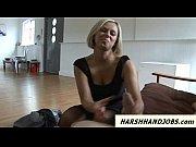 Anna Joy loves to give harsh handjob to pervert