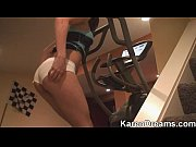 Karen Dreams - Teasing on the stairs