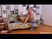 Picture Young Girl 18+ Evelina gets nailed on the co...