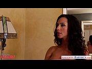 Naughty mom Ariella Fererra gets big knockers f...