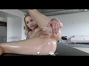 Pretty girl Goldie is oiled up and fucked - Exo...