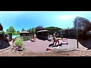 Picture 3-Way Porn - VR Group Orgy by the Pool in Pu...