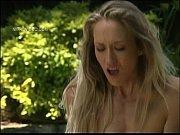 Порно блондинка в розовой сетке