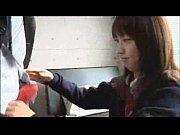 【JK動画】出会ってすぐにオジサンちんぽをフェラしちゃう援交慣れした女子校生