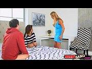 Смотреть порно видео большие сиськи муж и любовник ебут жену