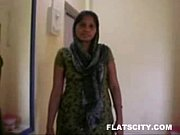 bed in naked getting and removing salwar in Housewife