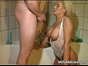 bathroom backdoor sex with hot and wet