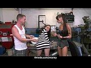 Паренек доставил оргазм прелестной девушке
