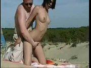beach public at fucked babe French