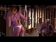 Panicats fazendo strip no pole dance