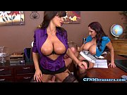 Awesome cfnm action with busty Lisa Ann