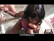 Как издевается госпожа над анусом своего раба