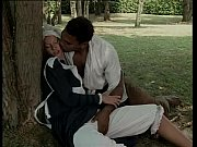 Picture Black slave pounce on a white servant for fu...