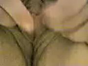 Мужик ебет толстую бабу в попу и кончает в рот