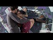 Рыжая девка с большой грудью в латексе порно видео