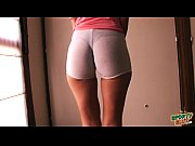 Fat Ass Teen In Ultra Tight Shorts! Showing Sex...