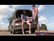 girls out west – aussie couple fucking outdoors