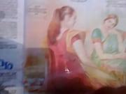 Частное сестра жены в сауне