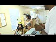 Жену заливают спермой при муже