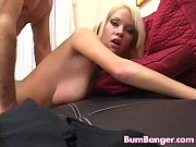 Bombshell Kissy Kapri takes it in the ass