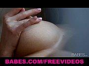 Busty brunette babe rubs her self to an intense...