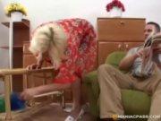 rough it loves granny Blonde