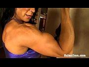 HD Sexy Rhonda muscle babe flexes more than jus...