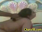 Секс на столе с грудастой блондой