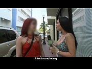 Русская девушка в двойном проникновении