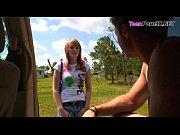 Девушке ласкают клитор мужчина