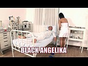 Picture Slutty nurse Black Angelika fucks in the hos...