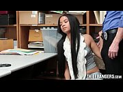 Corrupt Officer Bangs Shoplifters Maya Bijou & ...