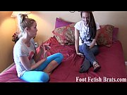 Yoga instructor gets her sexy feet worshiped