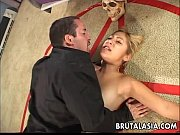 Hot bitch gets fucked or sacrificed on the pent...