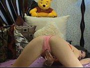 Webcam - Pink Panty Pillow Hump