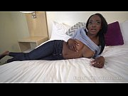 Ebony Teen takes a Hard...