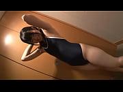 素人のスク水美少女動画