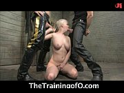 Cherry Torn trained to be a slave